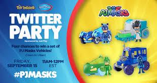 pj masks twitter party sept 15 toy insider