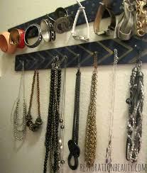 bracelet necklace organizer images Restoration beauty diy necklace bracelet organizer jpg