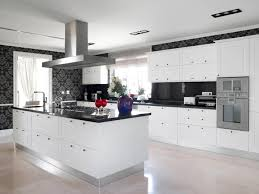 White Kitchen Cabinets Black Countertops by Granite Counter Tops In Kitchen White Cabinets Elegant Home Design