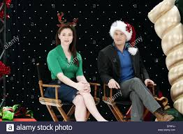 Seeking Who Plays Santa Natalie Krill Nick Zano Desperately Seeking Santa 2011 Stock