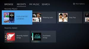 amazon music app new standalone amazon music app arrives on the fire tv ahead of ui