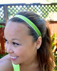 headbands that don t slip diy no slip workout headbands apple of my eye