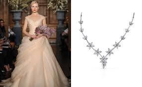 wedding dress necklace best necklace for v neck wedding dress summer collection 2013