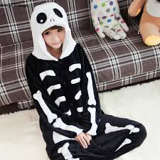 Halloween Skeleton Pattern by Aliexpress Com Buy Skull Skeleton Onesie Kids Boy