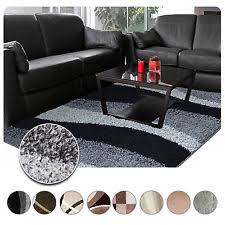 Modern Abstract Area Rugs Shag Flokati Abstract Area Rugs Ebay
