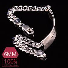 sterling silver bracelet ebay images 10pcs 925 sterling silver bracelet men silver bangle men 100 pure jpg