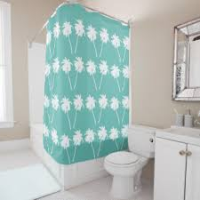 palm tree shower curtains zazzle