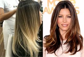 short hairstyles with ombre color hair style and color for woman