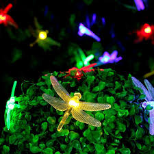 Easter Lights And Decorations by Aliexpress Com Buy Waterproof Outdoor Solar Dragonfly Led Night