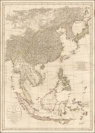 A Map Of Asia by Second Part Of A Map Of Asia Containing China Part Of Tartary