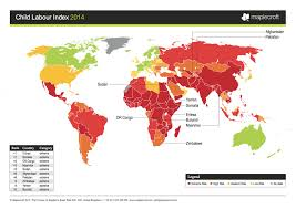Yemen On World Map by The Global Crisis Of Child Labor In 1 Map Huffpost