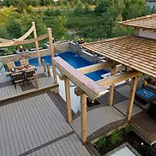composite deck ideas composite deck designs u0026 pictures trex