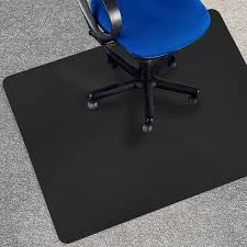 amazon com office marshal black office chair mat 36