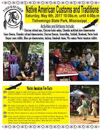 american customs and traditions at tishomingo state park