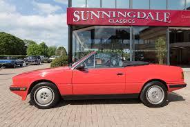 red maserati sedan 1989 maserati biturbo spyder 2 8 automatic sunningdale classics