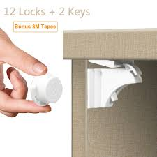 magnetic cabinet locks no drill updated baby proofing magnetic cabinet locks child safety drawers