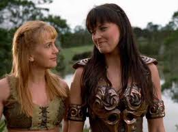zena the warrior princess hairstyles best xena and gabrielle on xena warrior princess from back from