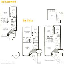 floor plans with courtyard woodland village and woodland park ellicott city floor plans