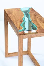Turquoise Entry Table by Home Greg Klassen