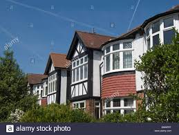 mock tudor style houses of the 1930s east twickenham middlesex