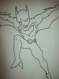 batman beyond line art printable 982 batman beyond coloring pages