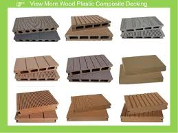 outdoor wpc swimming pool side decking plastic wood plank flooring