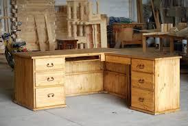 desk stupendous solid wood l shaped desk 30 enchanting oak l