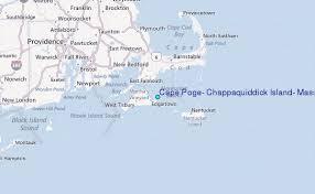 Chappaquiddick Ma Cape Poge Chappaquiddick Island Massachusetts Tide Station