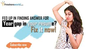 Gaps In Resume Year Gap In Your Resume Fix It Now Youtube