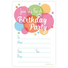 u0026 teen birthday invitations