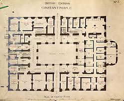 Embassy Floor Plan by Istanbul U2013 Rebuilding The Palace 1832 56 Room For Diplomacy