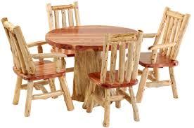 cedar dining room table 42