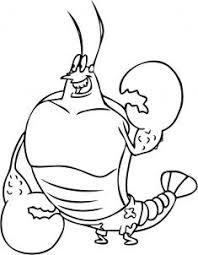 lobster coloring page more information kopihijau