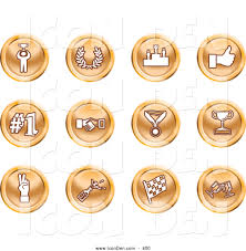 champagne clipart clip art of a winner laurel victory thumbs up number 1