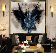 Batman Home Decor Aliexpress Com Buy Customize 3d Batman Mural Wallpaper Broken