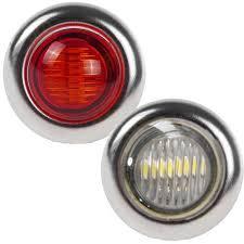 red led marker lights big rig chrome shop semi truck chrome shop truck lighting and