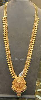 traditional gold haram models jewellery designs