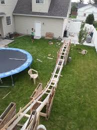 Backyard Roller Coaster For Sale by 48 Best Backyard Rollercoaster Images On Pinterest Back Garden