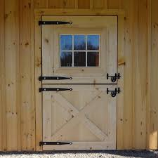 Double Barn Doors by Custom Built Wooden U0026 Aluminum Barn Doors Dutch Exterior Stall Doors