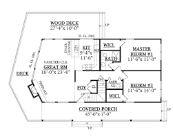Sl House Plans by Log Style House Plan 3 Beds 2 00 Baths 1601 Sq Ft Plan 456 3