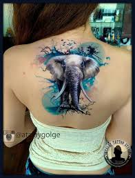 What Do Elephant Tattoos Best 25 Watercolor Elephant Tattoos Ideas On Elephant