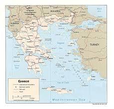 World Map Greece by Wps Port Of Thessaloniki Satellite Map