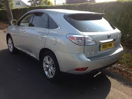 cvt lexus second hand lexus rx 450h 3 5 se i 5dr cvt auto for sale in