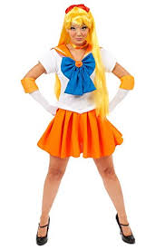 Mens Sailor Halloween Costume Amazon Sailor Moon Venus Costume Clothing