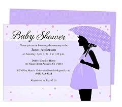 baby shower invitations templates free for word iidaemilia com