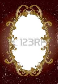 ornamental mirror frame royalty free cliparts vectors and stock