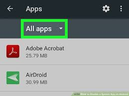 disable app android how to disable a system app on android 6 steps with pictures