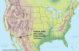 Map Of Tucson Suffolk Hills Arizona Planet Suffolk Bringing Together The