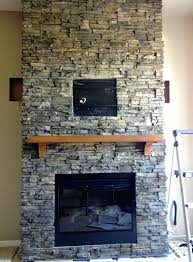 fireplace stacked stone veneer panels tile hearth suzannawinter com