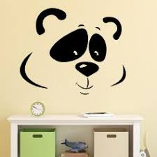 stickers panda chambre bébé stickers muraux panda stickers pandas de déco ambiance sticker